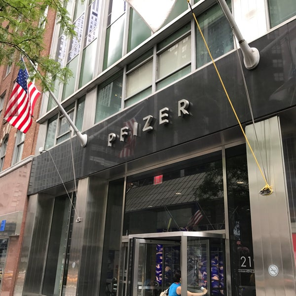 Pfizer Office In New York