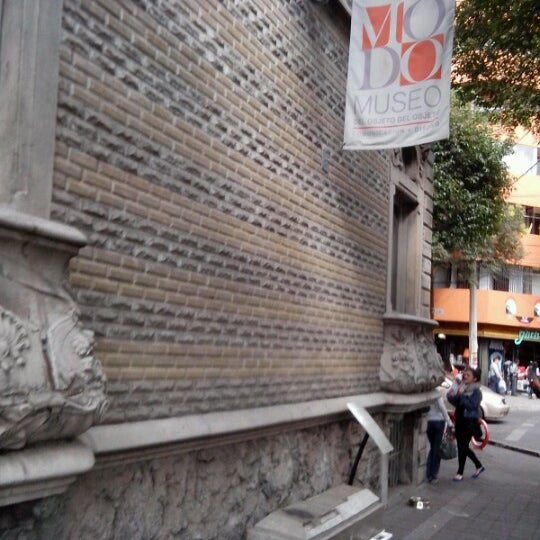 Das Foto wurde bei MODO Museo del Objeto del Objeto von José Luis T. am 11/17/2012 aufgenommen