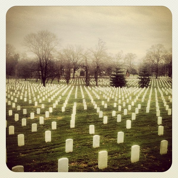 Photo prise au Arlington National Cemetery par Valentin K. le12/11/2012
