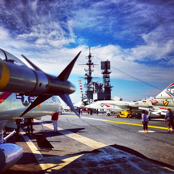 Photo taken at USS Midway Museum by Ben S. on 11/27/2012