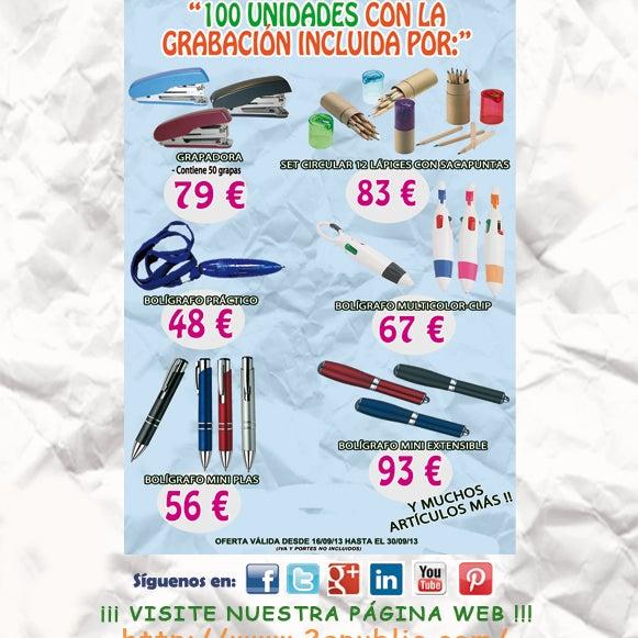 ¡¡¡2A - Gran Oferta de Packs por menos de 100 € con grabación incluida!!!