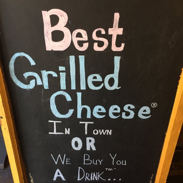 Simply an amazing place grilling-up the best grilled cheese in NYC. Try the little Italy with a cup of tomato soup. Use it as a dip. Sooo good!