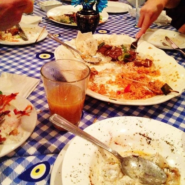 3/18/2013에 MlleTravelista님이 Anatolia Restaurant에서 찍은 사진