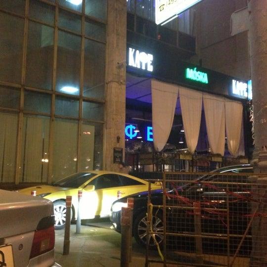 Foto scattata a Moska Bar da Natalia G. il 11/24/2012
