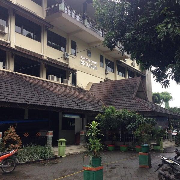 Kantor Kecamatan Setiabudi Jakarta Selatan Jl Setiabudi Barat