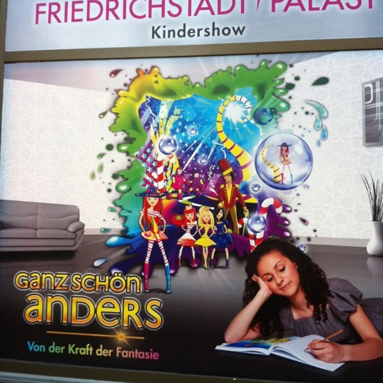 Das Foto wurde bei Friedrichstadt-Palast von NelumboNocifer am 11/13/2012 aufgenommen
