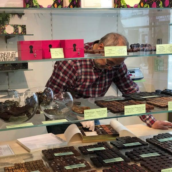 Foto tirada no(a) Chocolaterie Joséphine Vannier por Vedat H. em 5/12/2019