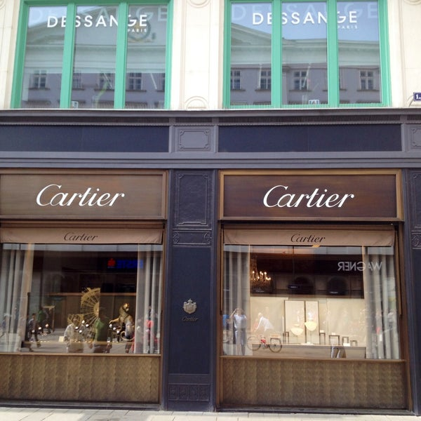 Cartier Jewelry Store In Vienna