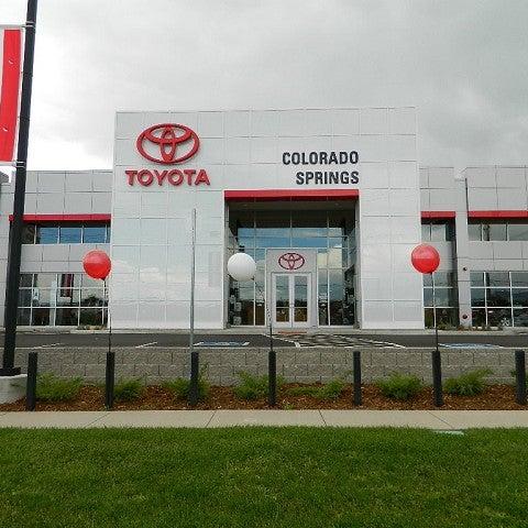 Car Dealerships Colorado Springs >> Larry H Miller Toyota Colorado Springs Auto Dealership In
