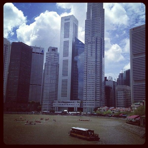 Foto diambil di Singapore River oleh @justbeingarlyn pada 11/4/2012