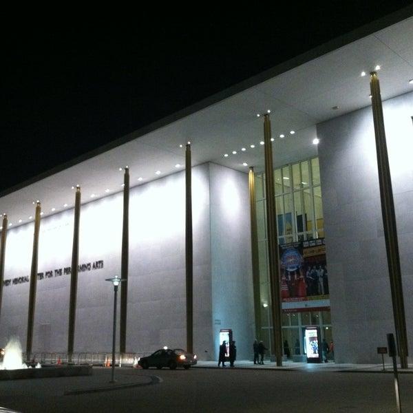 Снимок сделан в The John F. Kennedy Center for the Performing Arts пользователем Michael W. 12/28/2012