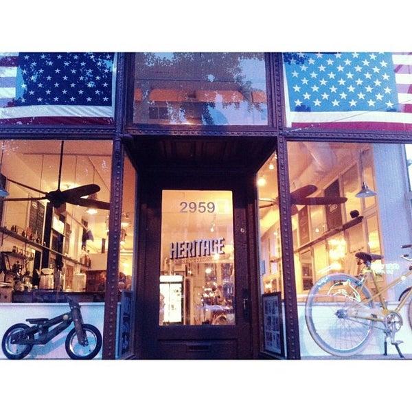 รูปภาพถ่ายที่ Heritage Bicycles โดย Nick N. เมื่อ 7/21/2013