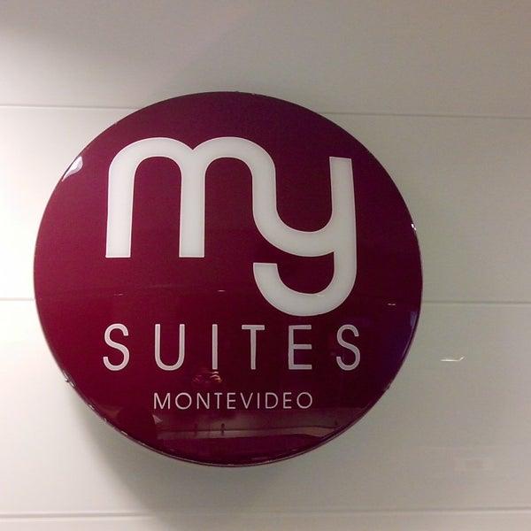 Foto diambil di My Suites Boutique Hotel & Wine Bar Montevideo oleh Verónica M. pada 7/3/2014
