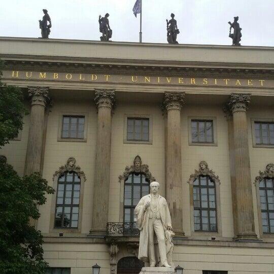 8/17/2015에 Gatt O.님이 Humboldt-Universität zu Berlin에서 찍은 사진