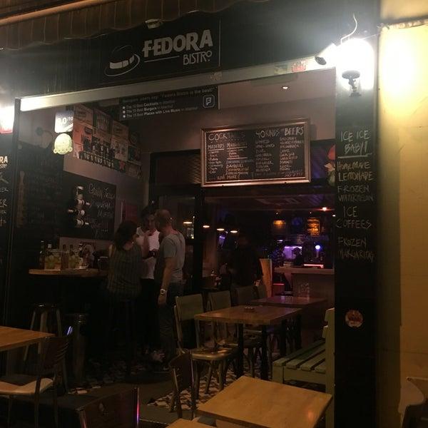 8/28/2016 tarihinde Recep G.ziyaretçi tarafından Fedora Bistro'de çekilen fotoğraf