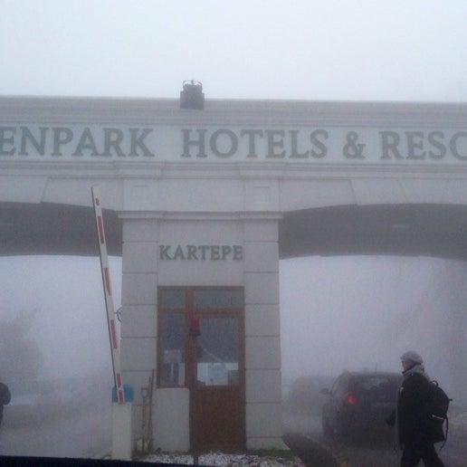 รูปภาพถ่ายที่ The Green Park Kartepe Resort & Spa โดย Kadir B. เมื่อ 1/27/2013