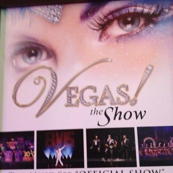 3/10/2013 tarihinde Marcy B.ziyaretçi tarafından VEGAS! The Show'de çekilen fotoğraf