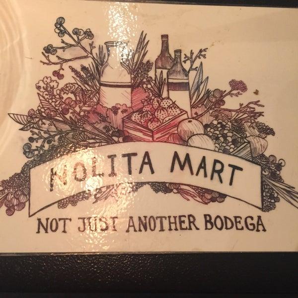 5/3/2016にFloraがNolita Mart & Espresso Barで撮った写真