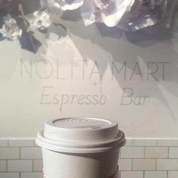 5/24/2016にFloraがNolita Mart & Espresso Barで撮った写真