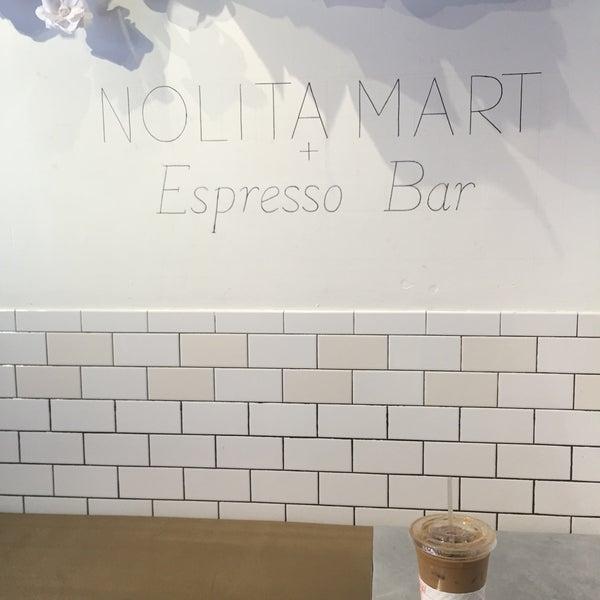 5/17/2016にFloraがNolita Mart & Espresso Barで撮った写真
