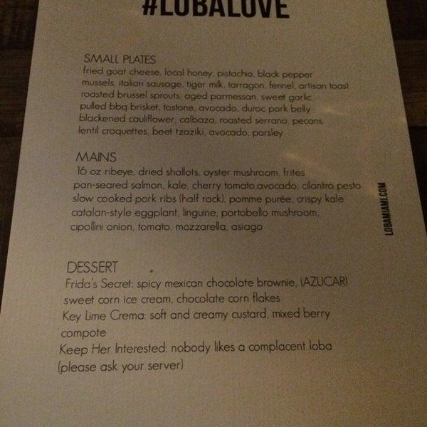 Photos at LOBA Restaurant - Upper Eastside - 7420 Biscayne Blvd