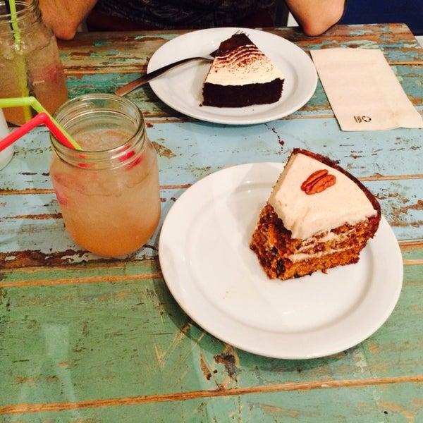 El carrot cake es el cielo!!!
