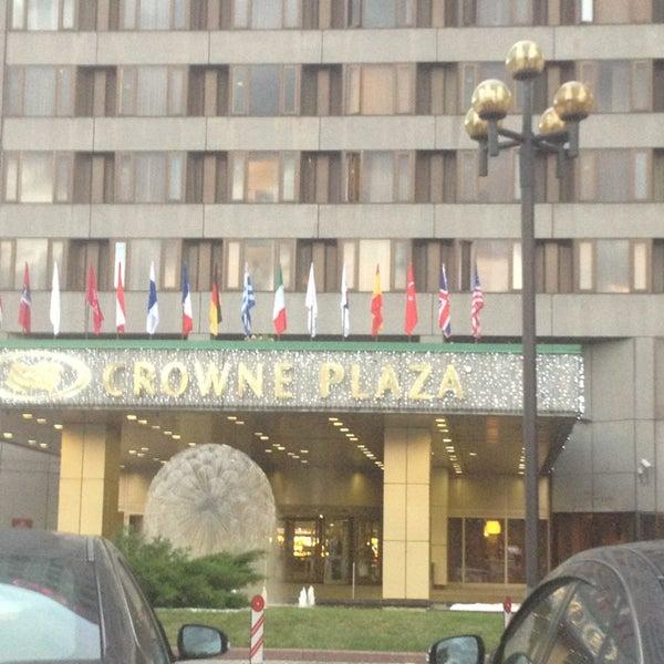 Foto tirada no(a) Crowne Plaza por Светлана em 9/2/2014