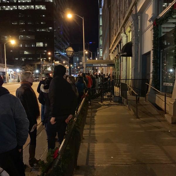 12/19/2018 tarihinde Adrian N.ziyaretçi tarafından Comedy Works Downtown in Larimer Square'de çekilen fotoğraf