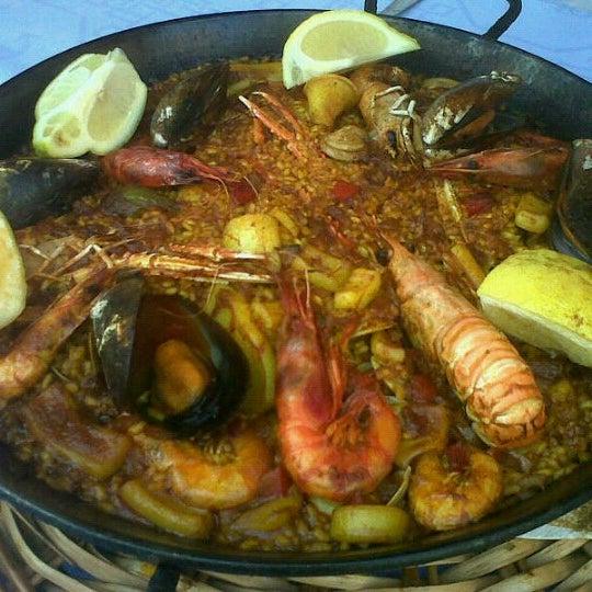Das Foto wurde bei Restaurante Salamanca von Kike D. am 10/9/2012 aufgenommen
