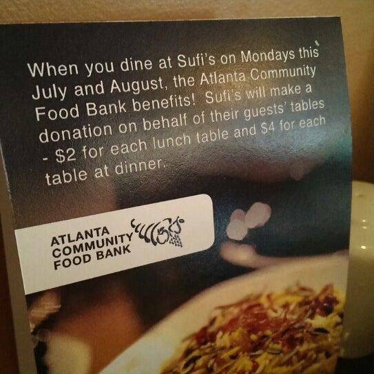 6/28/2013 tarihinde Thomas F.ziyaretçi tarafından Sufi's Restaurant'de çekilen fotoğraf