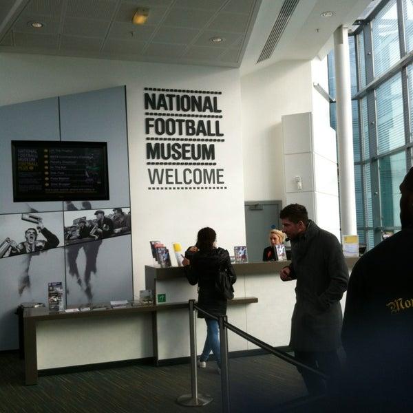 2/21/2013 tarihinde Ed G.ziyaretçi tarafından National Football Museum'de çekilen fotoğraf