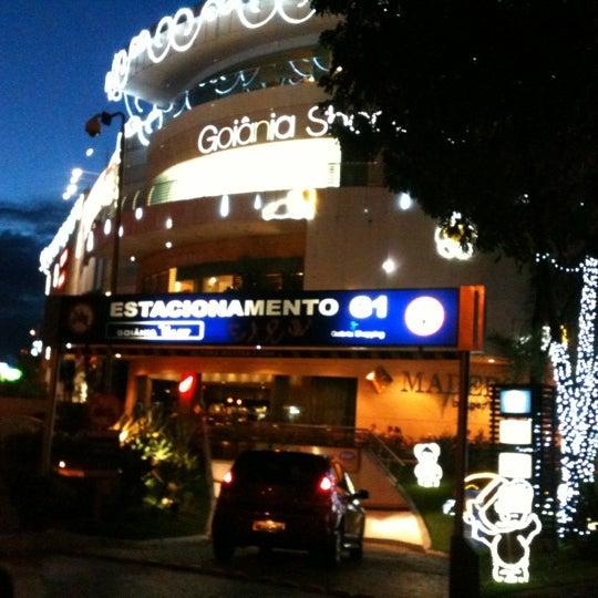 12/4/2012 tarihinde Neiberziyaretçi tarafından Goiânia Shopping'de çekilen fotoğraf