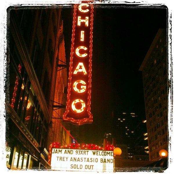 10/20/2012에 Elise M.님이 The Chicago Theatre에서 찍은 사진