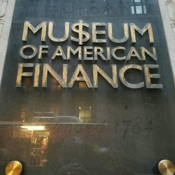 Foto tirada no(a) Museum of American Finance por DrWho131 M. em 1/23/2017