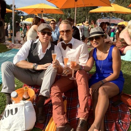 Das Foto wurde bei Veuve Clicquot Polo Classic von Brian T. am 10/7/2012 aufgenommen
