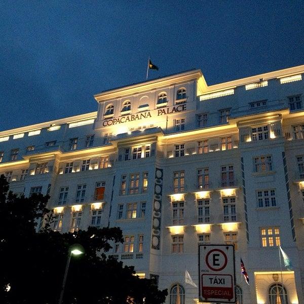 3/27/2013에 Richard E.님이 Belmond Copacabana Palace에서 찍은 사진