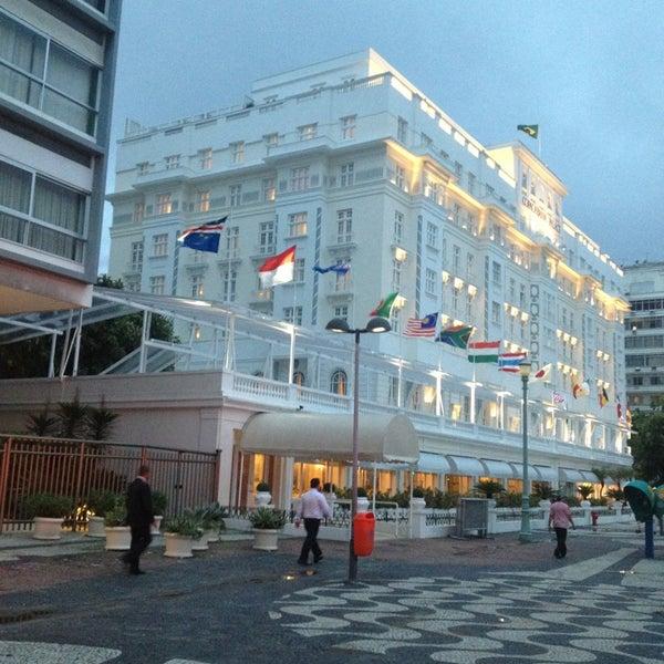 3/18/2013에 Richard E.님이 Belmond Copacabana Palace에서 찍은 사진