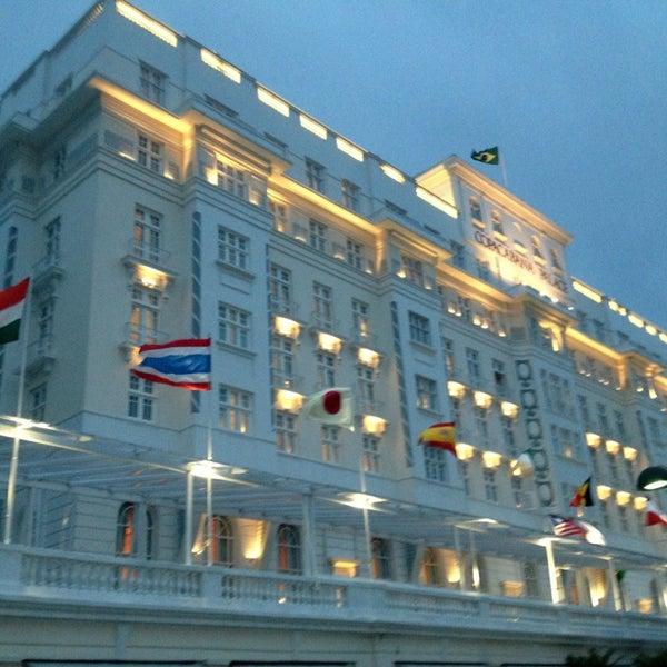3/30/2013에 Richard E.님이 Belmond Copacabana Palace에서 찍은 사진
