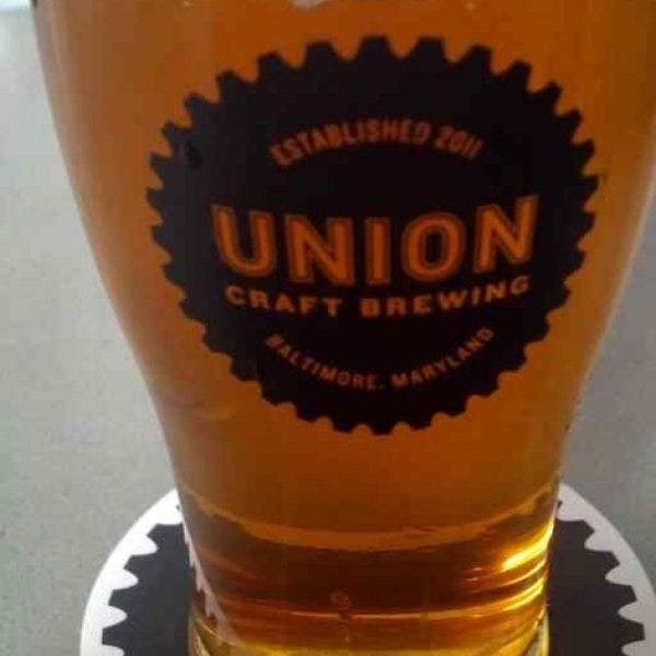 Photo taken at Union Craft Brewing by Dan L. on 3/22/2014