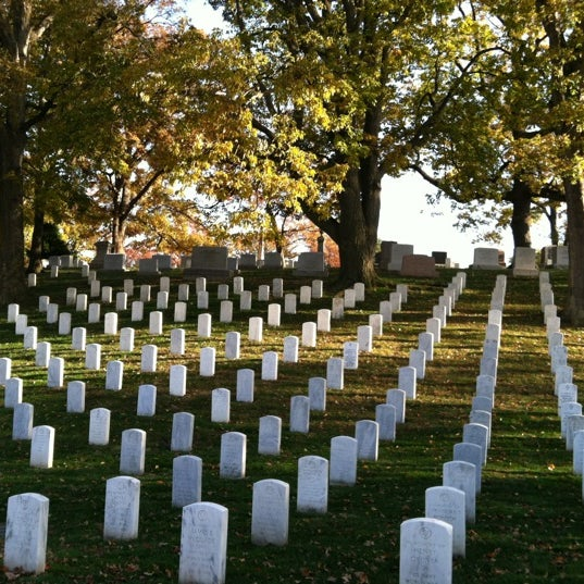 Photo prise au Arlington National Cemetery par Erica L. le11/11/2012