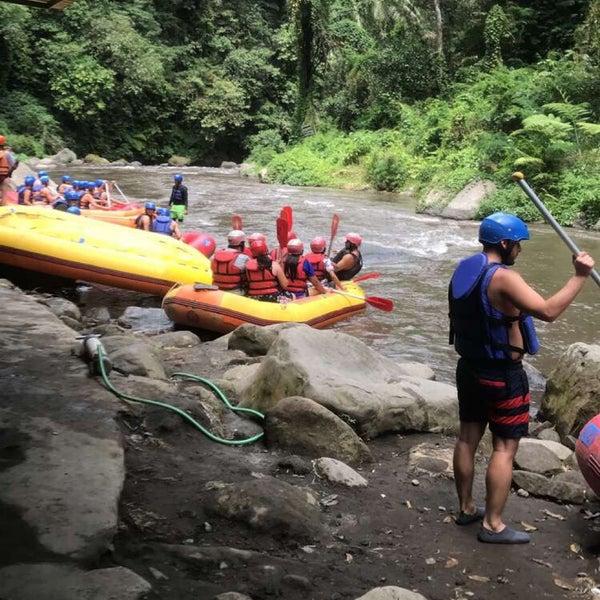 Ayung River Rafting Adventure Rafting