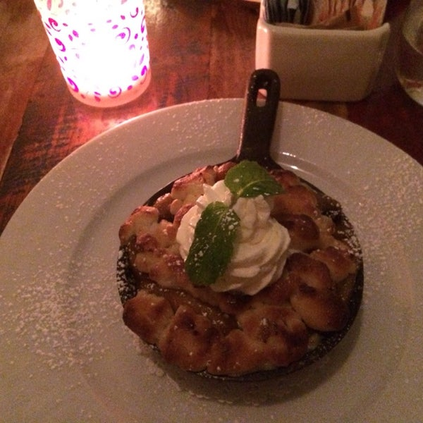 Uma experiência excelente! A sobremesa de pêssego, uma das melhores que já comi!
