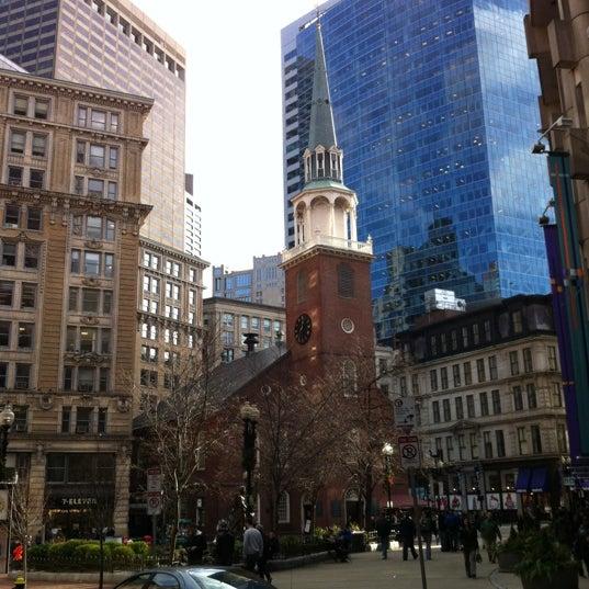12/5/2012にCooperがOld South Meeting Houseで撮った写真