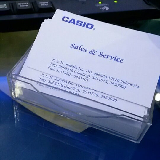 Photos at Casio Service   Sales Center - Tanah Abang - 29 tips from ... 314dcd0001
