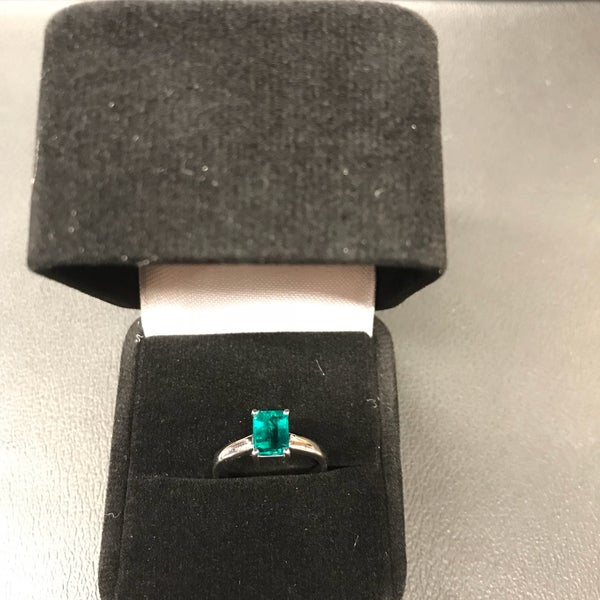 Well, if you use your US passport...emeralds are 20% off