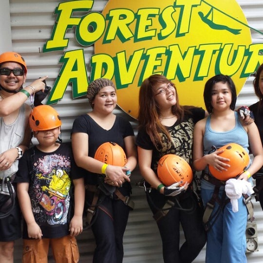 10/30/2013에 Grase G.님이 Forest Adventure (Bedok Reservoir Park)에서 찍은 사진