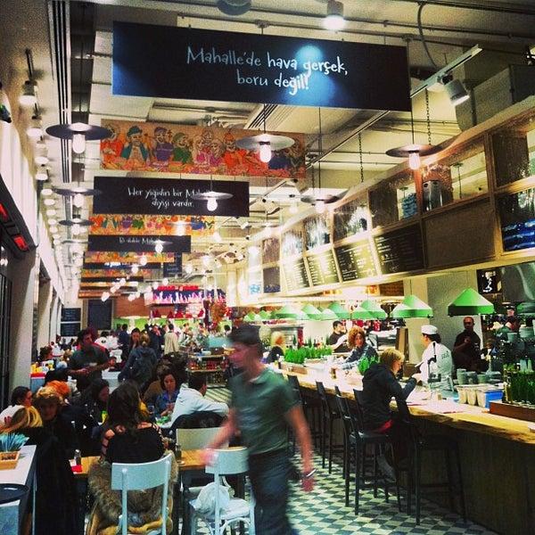 Das Foto wurde bei City's Mahalle von Sönmezer T. am 12/28/2012 aufgenommen
