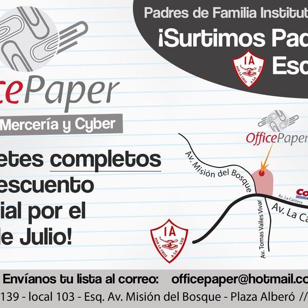 Photos At Officepaper Papelería Y Mercería 1 Tip