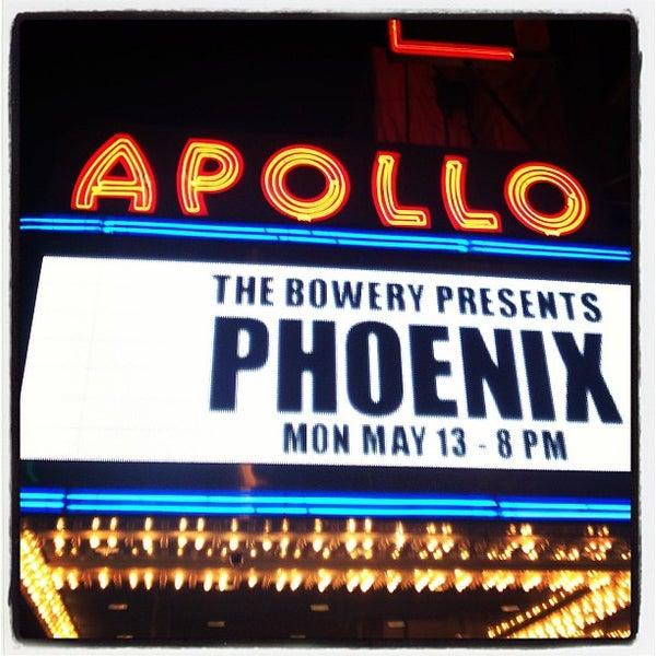 5/14/2013 tarihinde Katie V.ziyaretçi tarafından Apollo Theater'de çekilen fotoğraf