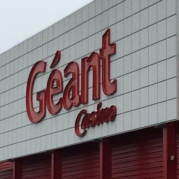 Geant Casino Saint Louis